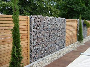 Kő - kombinált kerítés építéséhez