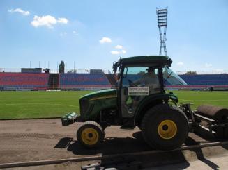 Videoton Stadion gyepszőnyege, Székesfehérvár